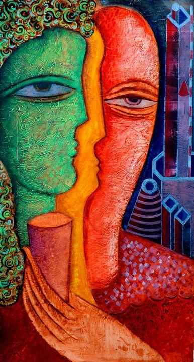 State of mind - Original art by  Van Hovak