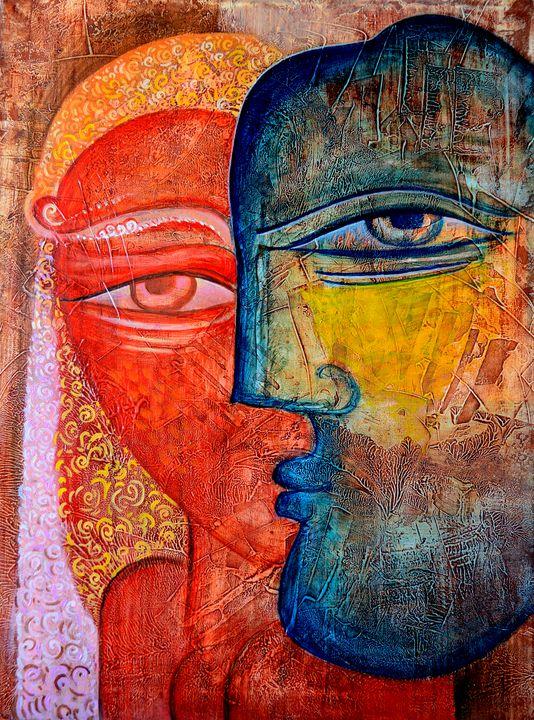 Love Story - Original art by  Van Hovak