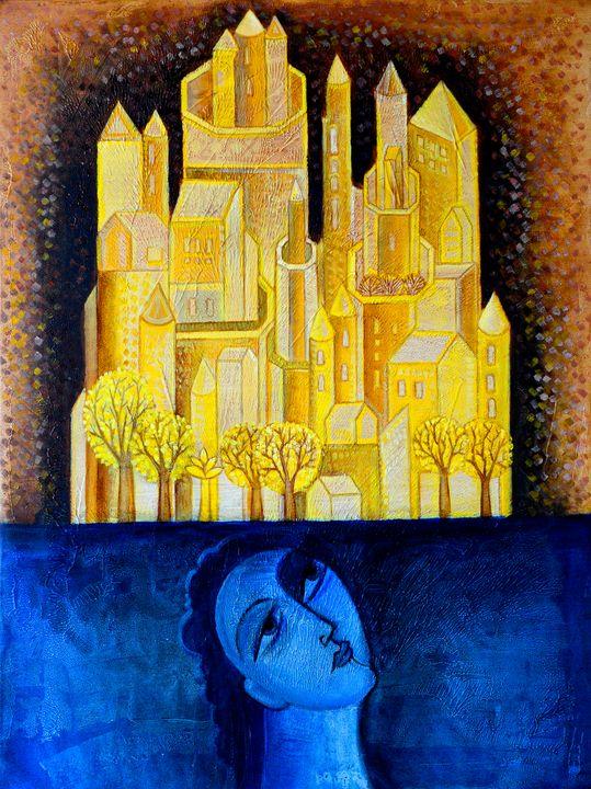 Dream City - Original art by  Van Hovak