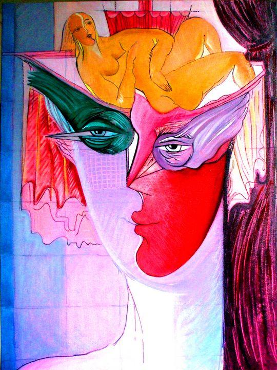 Dreams - Original art by  Van Hovak