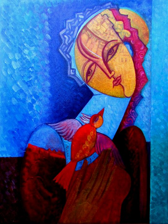 Rad Bird - Original art by  Van Hovak