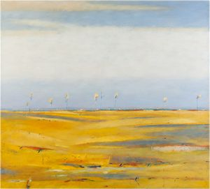 Landscape With Yellow Fields