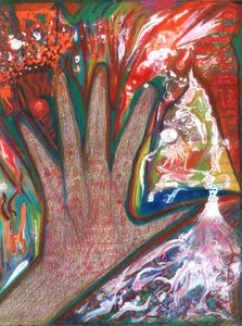 THE HAND OF AMEN RA