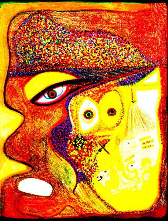 A Lioness Mind - Ascension Art by Delilah Sesson