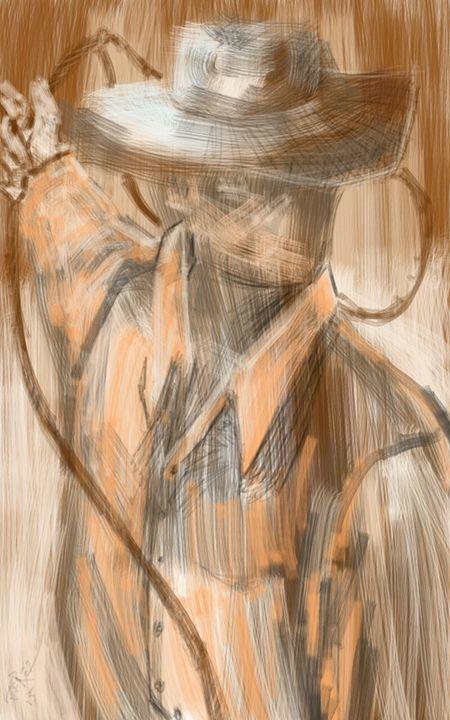Lasso 2 - Artist at work
