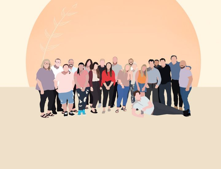 """Group Minimalist Vector - MariaaStyles08"