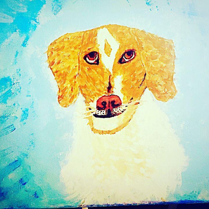 Jeidi dog - Bleachblondie