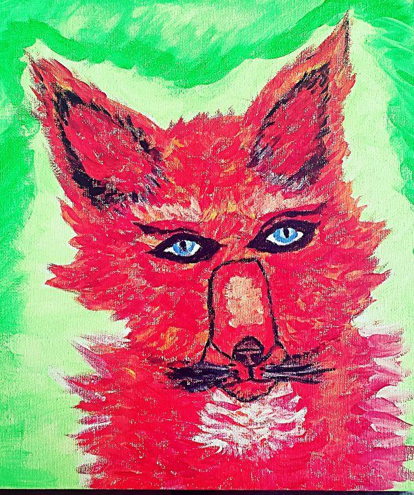 Red Fox - Bleachblondie