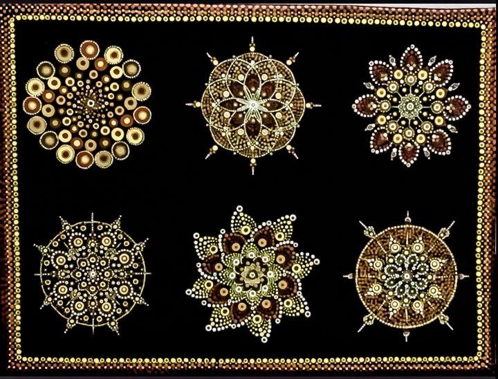 Mandala painting - Hajar's art
