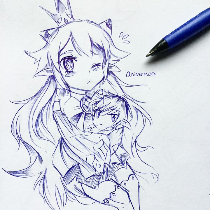 Lu/Ciel Fan Art - AnimeMoo