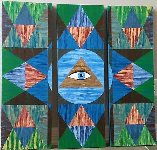 All Seeing Eye - JG Art