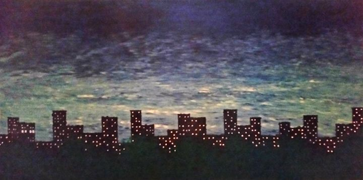 Night Sky over Harlem - JG Art