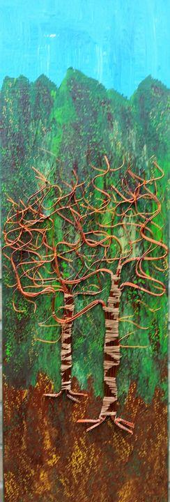Twin Trees - JG Art