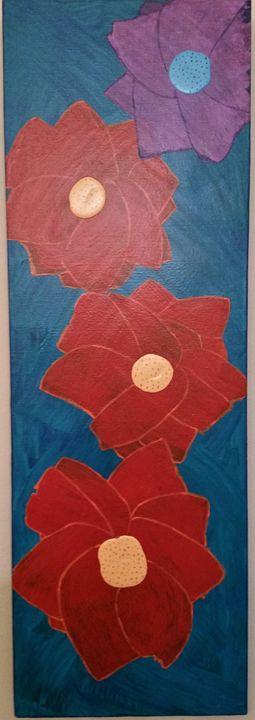 Enlightened Flowers - JG Art