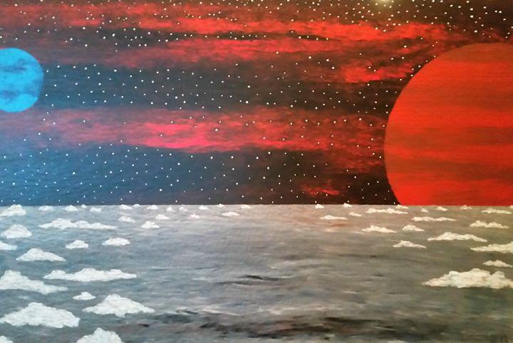 Rouge Moon - JG Art