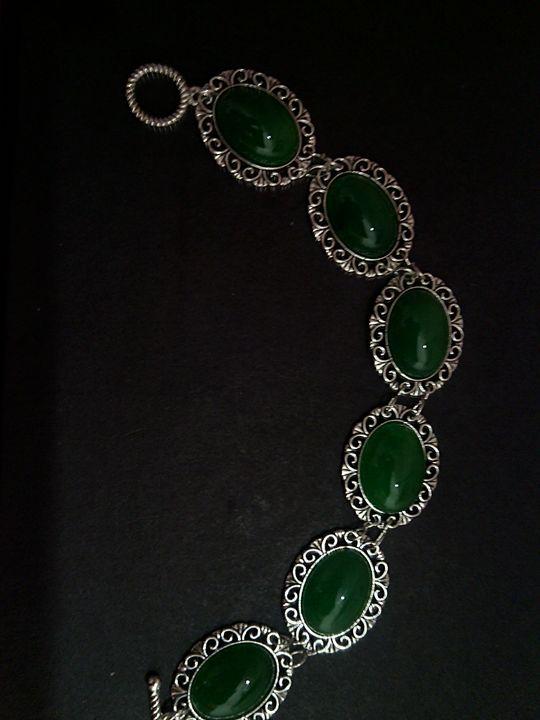 Gemstones bracelet - handmade - www.handmade-jewelries.eu