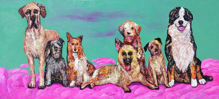 Three Generations - Leona Craig art gallery