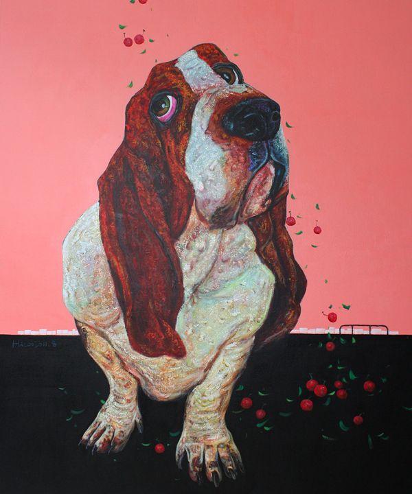 Cherry Rain - Leona Craig art gallery