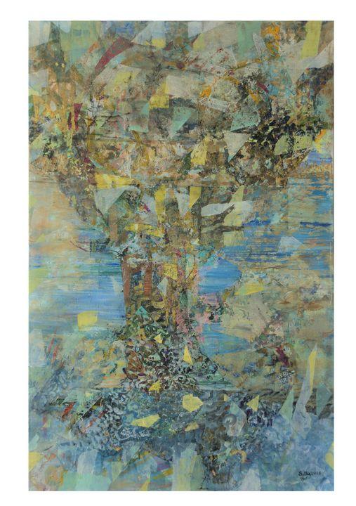 Tree - sally bar paintings