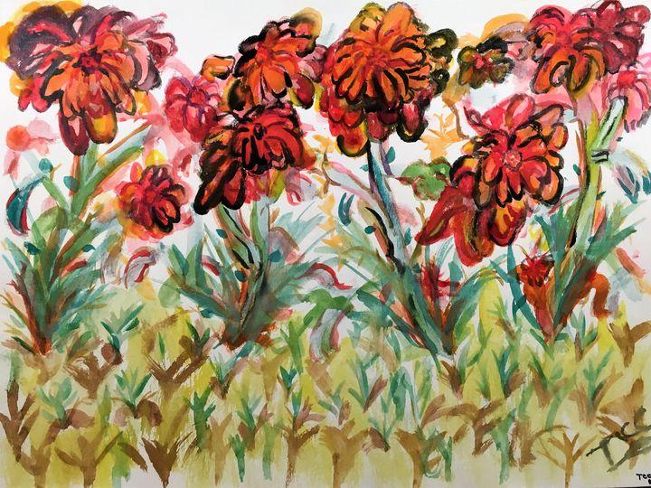 Spring Flowers - Tom Carlson