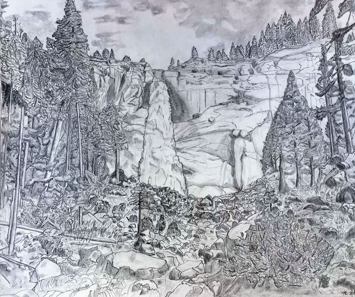 Yosemite Falls - Tom Carlson