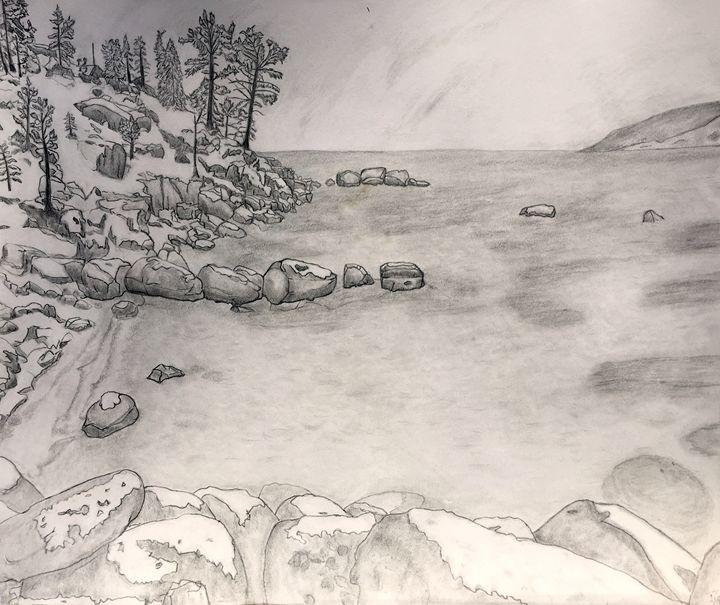 Lake Tahoe in Winter - Tom Carlson