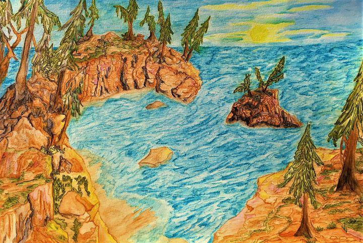 Oregon coastline - Tom Carlson