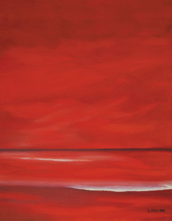 Red sky - simon mason