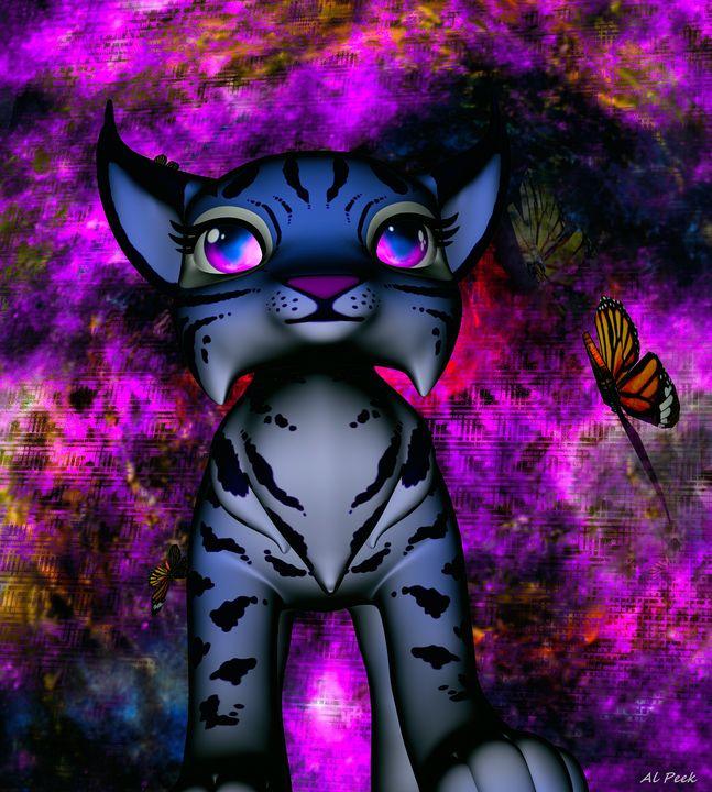 gatito - digital art