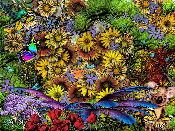 colours - Art by Al Peek