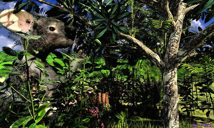 The Big Koala Bear - Art by Al Peek