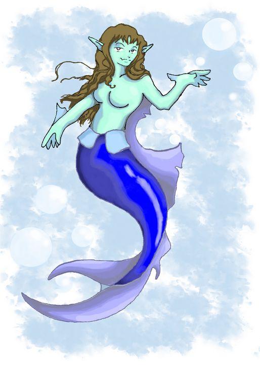 Beautiful Mermaid - Theo