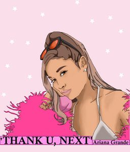 Ariana Grande Digital Portrait