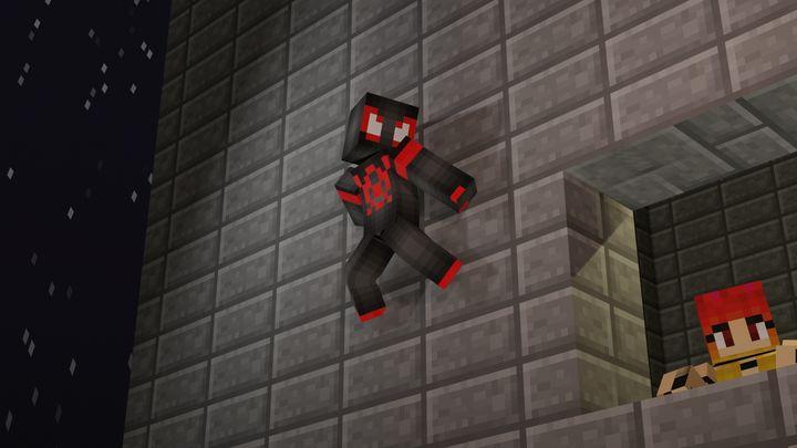 Kid Arachnid - Minecraft art