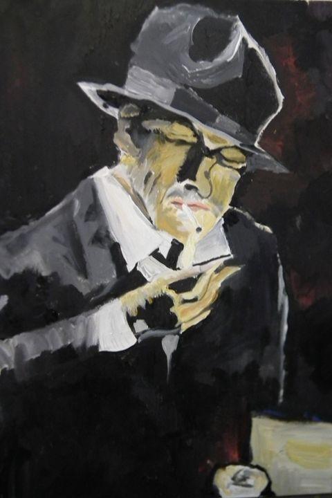 man smoking -  Jarit17