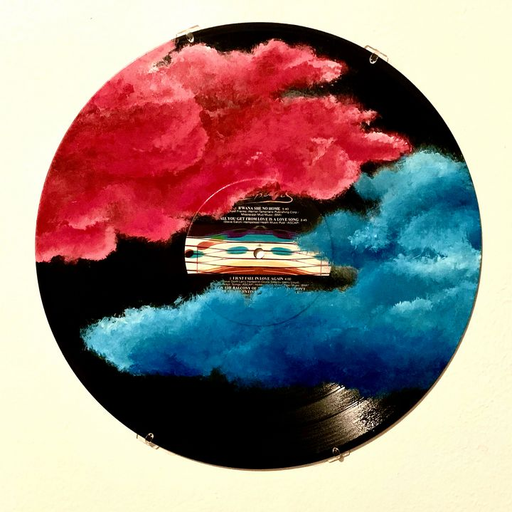 In the Clouds - Hippie Lue Studio