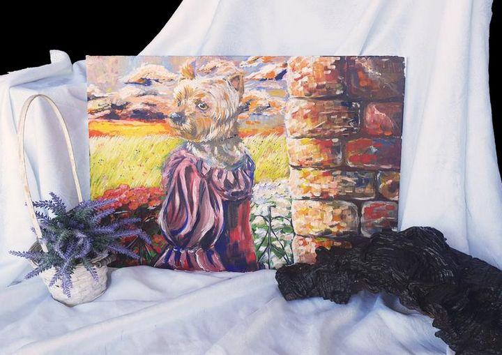 Impresionist style painting - Angela Art Atelier