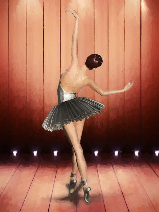 Ballet Dancer - Jaco Olivier Digital Art