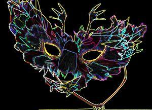 Feathery Mask