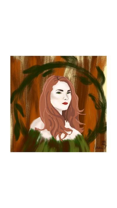 Skogsrå - Nellie Petersson