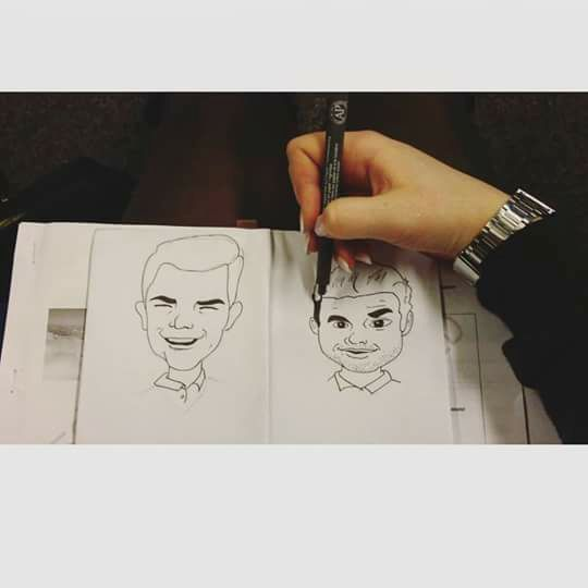 Male Sketches - Jess tv series - Lidia's Art and Drawings