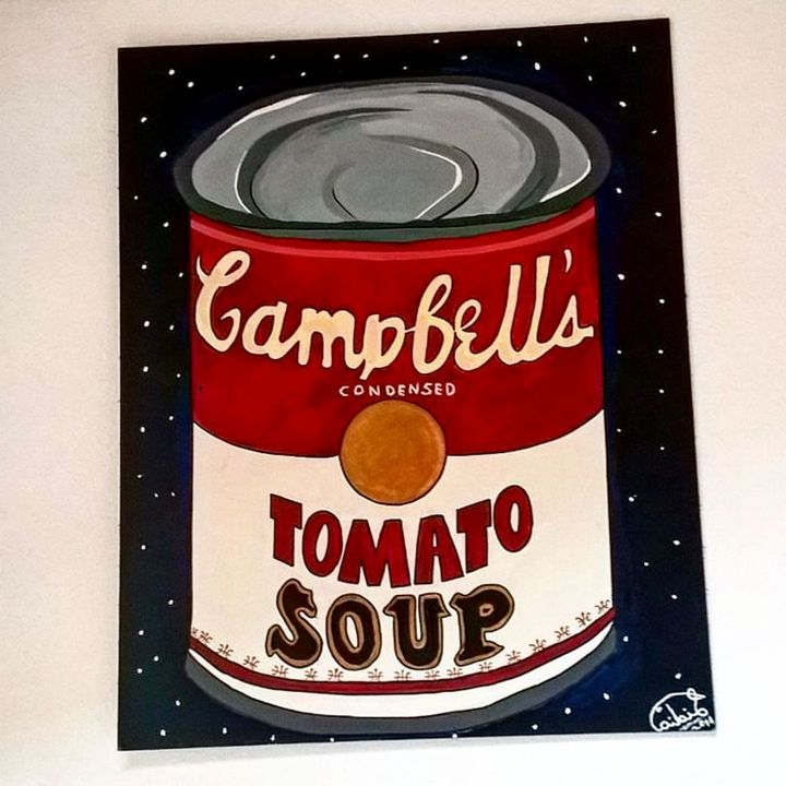Campbell's Tomato Soup - Lidia's Art and Drawings