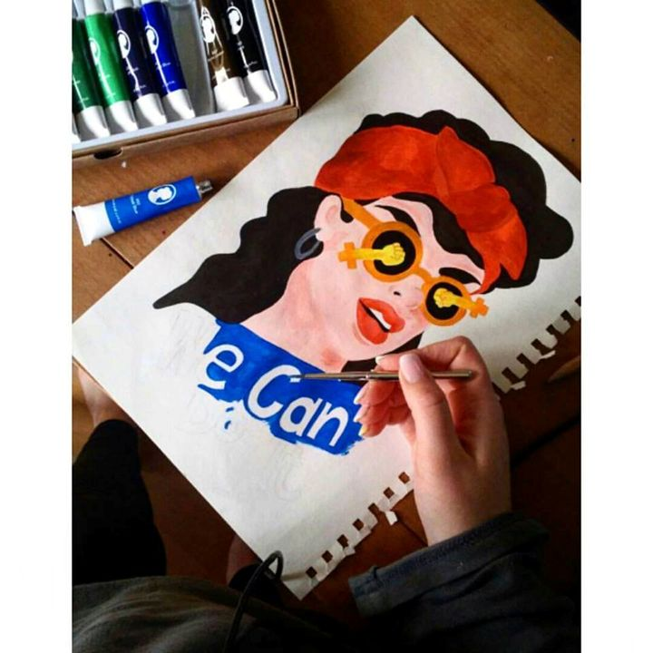 We Can Do It 2.0 - Lidia's Art and Drawings