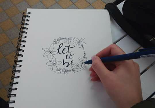 Let it Be - Lidia's Art and Drawings