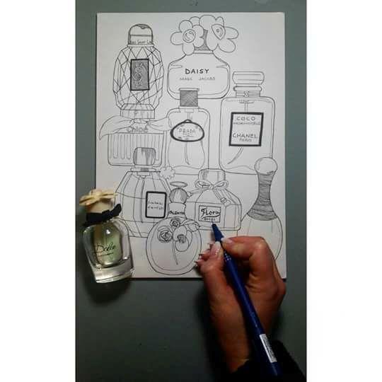 Vetro Profumato - Lidia's Art and Drawings