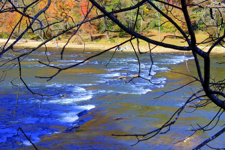 Tuckasegee River, NC - Jade Ellyette