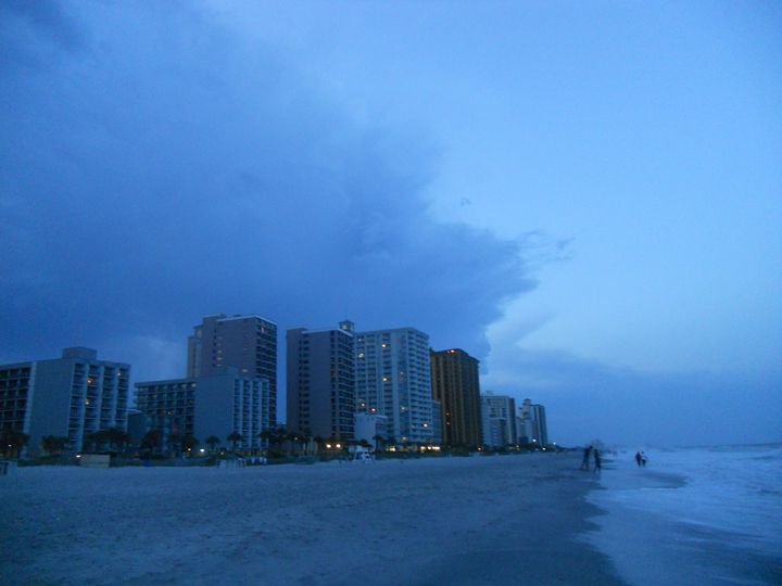 Myrtle Beach Evening - Jade Ellyette