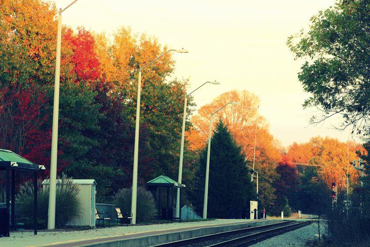 Fall Downtown Tracks - Jade Ellyette