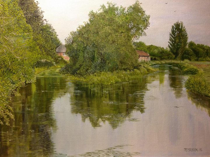 The River Itchen from Five Bridges - PAUL STRATTON