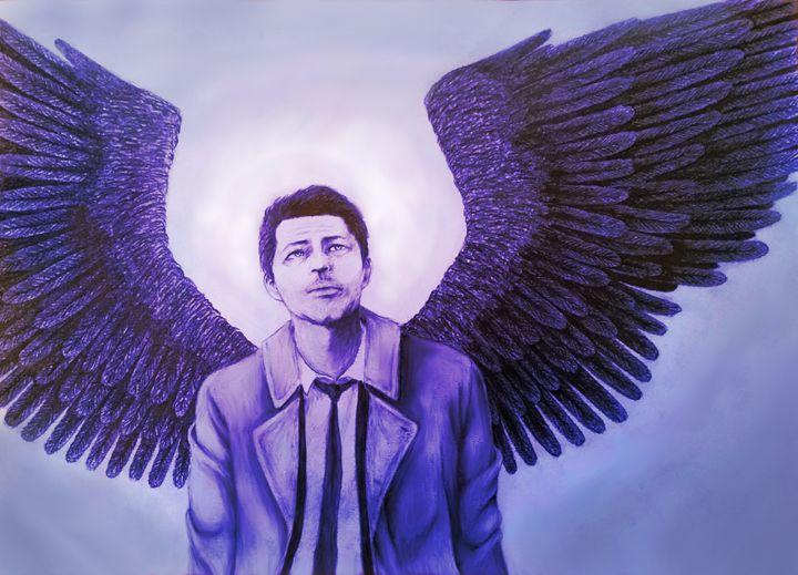Castiel's Wings - float-in-darkness